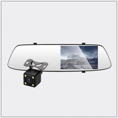4.3吋智慧型觸控雙鏡頭行車記錄器 - RV10