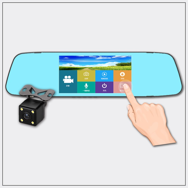 智慧觸控雙鏡頭行車紀錄器 - RV6T